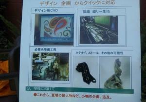 内田長織物PRボード
